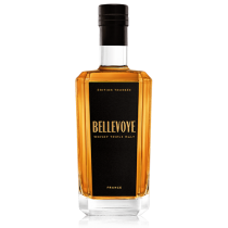BELLEVOYE NOIR - Whisky Triple Malt de France - Edition Tourbée
