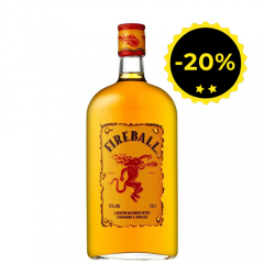 FIREBALL Cinnamon - Liqueur de Whisky - 70cl