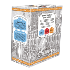 Cocktail LE JARDIN SECRET  - Les Formules Originales Combier  - BIB 3L