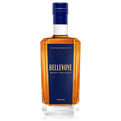 BELLEVOYE BLEU - Whisky Triple Malt de France - Finition Grain Fin