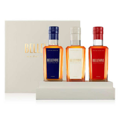 BELLEVOYE COFFRET DECOUVERTE TRICOLORE - Whisky Triple Malt de France - 3x20cl