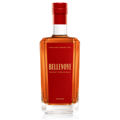 BELLEVOYE ROUGE - Whisky Triple Malt de France - Finition Grand Cru